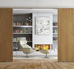 EvoDrive - Library with wooden door